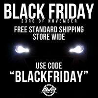 Gratis standard verzending op Black Friday!