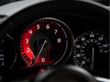 Red Edition Billet Tachometer plaat - ND MX5_