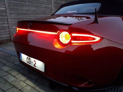 Rood achterlicht LED-kit